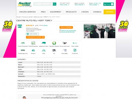 Centre auto TORCY - (71210) - Feu Vert - Pneu...