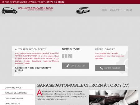 Citroën 77 - SARL AUTO REPARATION TORCY :...
