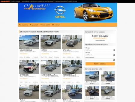 CHALUMEAU Automobiles Verneuil sur Avre -...