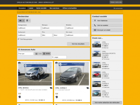 DREUX AUTOMOBILES SAS : Concessionnaire...