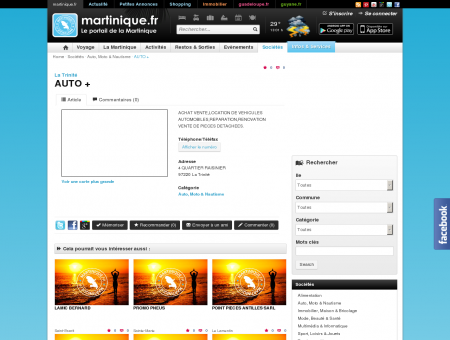 AUTO + - La Trinité - martinique.fr