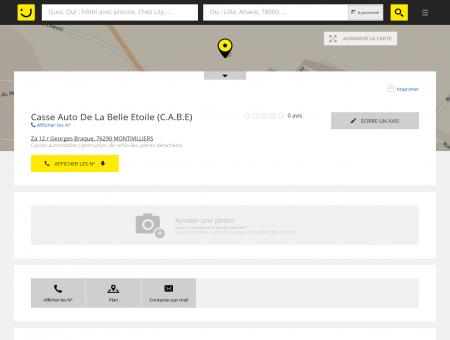 Casse Auto De La Belle Etoile Montivilliers...