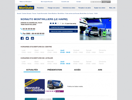 Norauto Montivilliers (Le Havre) - Centres...