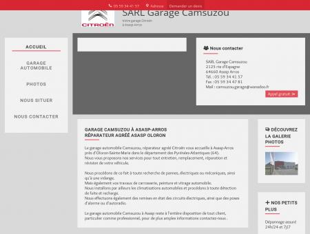 Garage Camsuzou - dépannage auto Oloron...