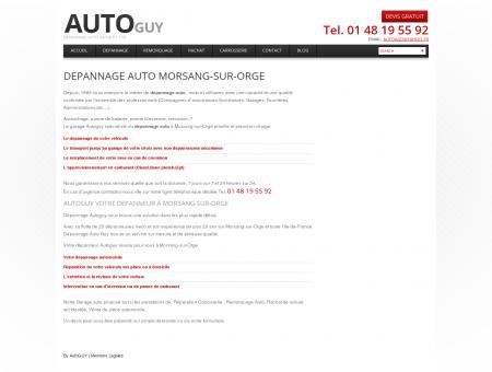 Dépannage auto Morsang-sur-Orge |...