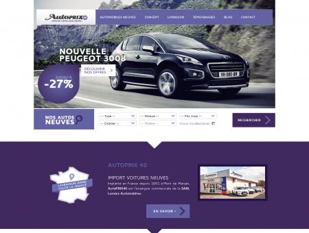 Import véhicules neufs | AutoPrix40
