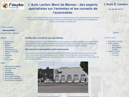 L' Auto Leclerc Mont de Marsan : des experts...