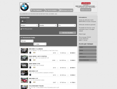 BMW MINI AUTO BOURGOGNE VACHER...