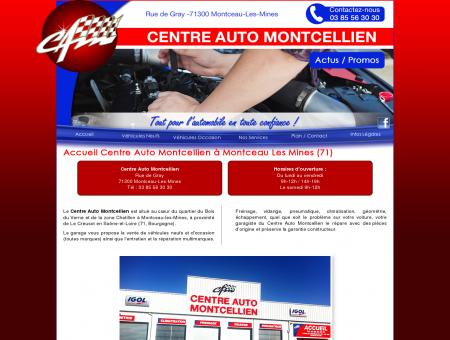 Garage Centre Auto Montcellien à Montceau...