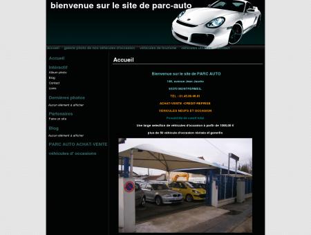 bienvenue sur le site de parc-auto
