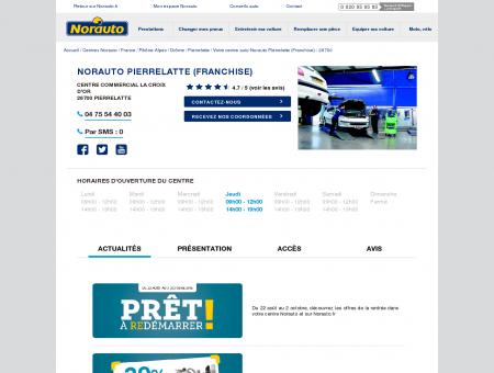 Norauto Pierrelatte (Franchise) - Centres auto...