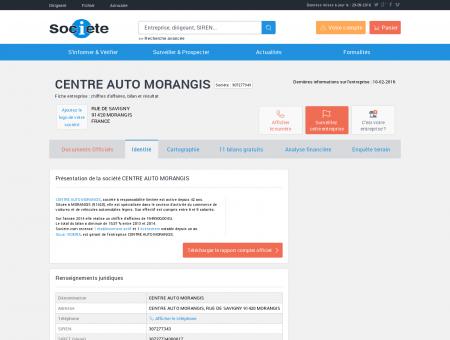 CENTRE AUTO MORANGIS (MORANGIS)...