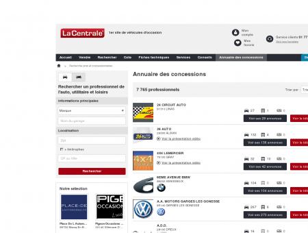 DG AUTOMOBILES : Voiture occasion MERU -...