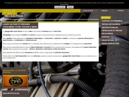 Garages automobiles - Méru Auto Pièces à Méru