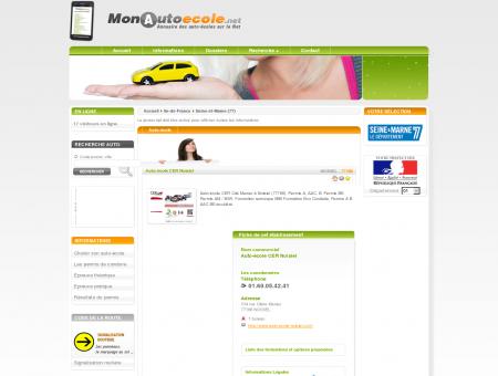 Auto-école CER Noisiel à NOISIEL (77186) /...