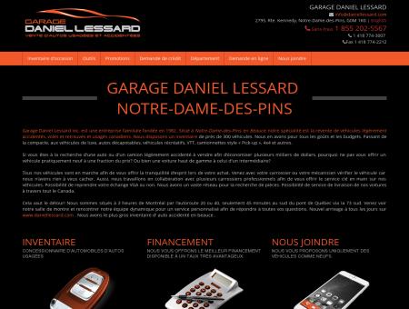 Garage Daniel Lessard - autos usagées à Notre...