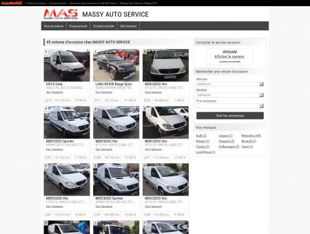 MASSY AUTO SERVICE - MASSY (91) - voitures...