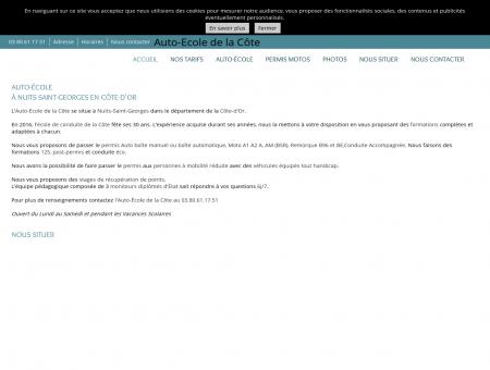 Auto-écoles - Auto-Ecole de la Côte à Nuits...