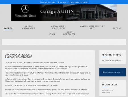 Garages automobiles - Garage Aubin à Nuits...