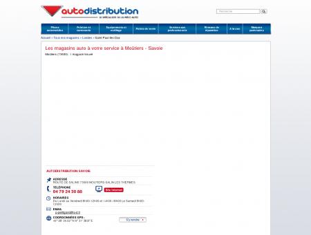 Les magasins auto à Moûtiers (73600) -...