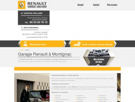 Garage Renault à Montignac