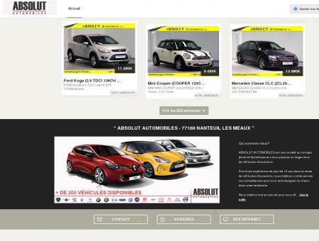 ABSOLUT AUTOMOBILES - 77100 NANTEUIL...