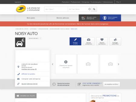 NOISY AUTO - Concessionnaire à Noisy-le...