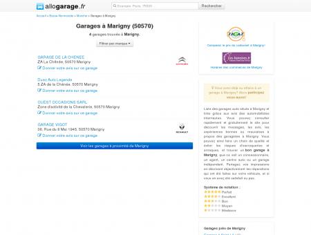 Garage Marigny (50570) - Comparatif des...