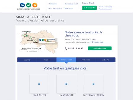 Assurances MMA - LA FERTE MACE GARE -...