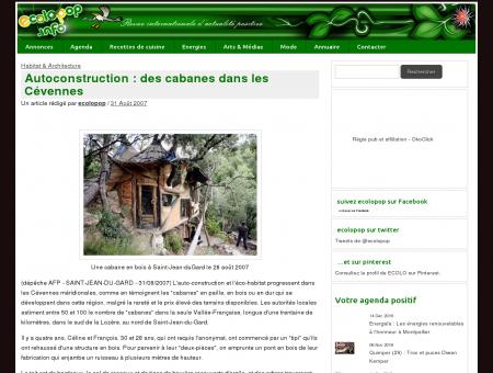 Autoconstruction : des cabanes dans les...