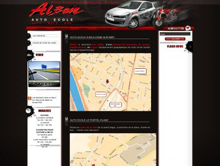 Auto école Albain (62) - auto ecole et moto...