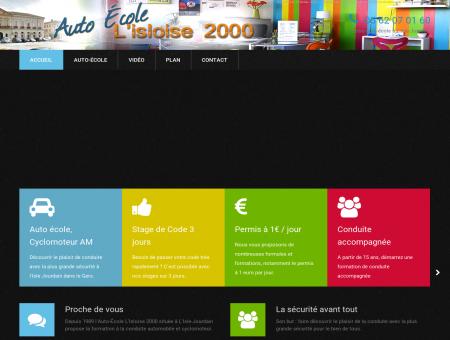 Auto-Ecole L'Isloise 2000 à L'Isle Jourdain.