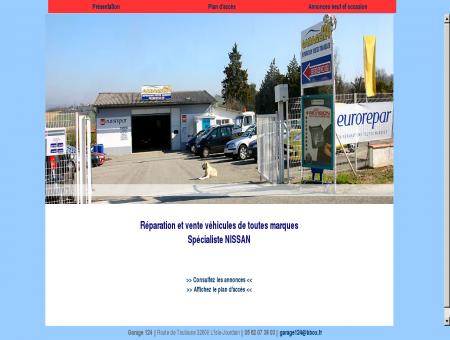 Garage 124: vente et réparation auto 32600...