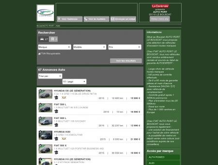 AUTO PORT : Concessionnaire FIAT LE...