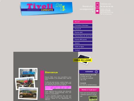 Accueil - Tivoli Conduite