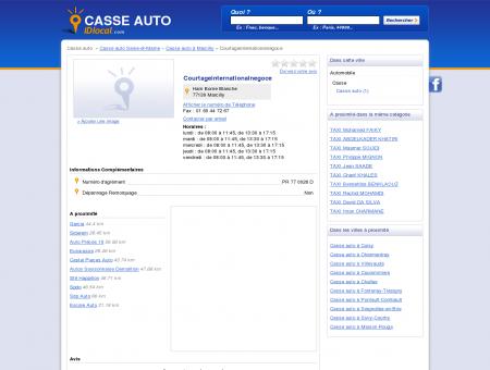 Courtageinternationalnegoce - Casse auto -...