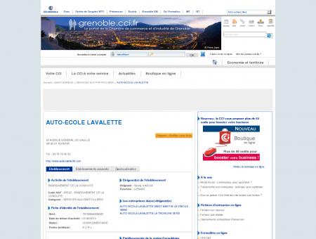 AUTO-ECOLE LAVALETTE - SAINT EGREVE -...