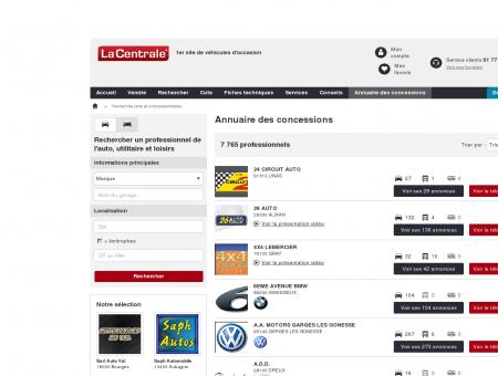 W 83 : Voiture occasion LA CRAU - Vente auto...