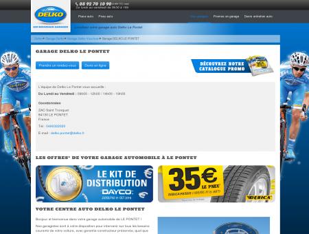 DELKO LE PONTET - Pièces et pneus auto...