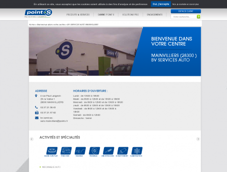 Centre auto BV SERVICES AUTO...