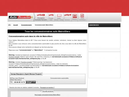 concessionnaire auto Mainvilliers...