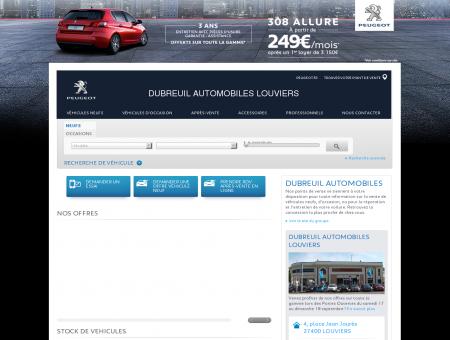 DUBREUIL AUTOMOBILES LOUVIERS, Votre...