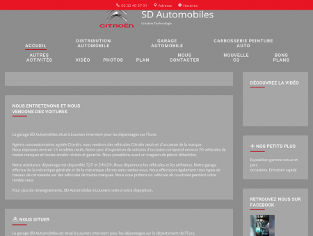 Garage automobile - SD Automobiles à...
