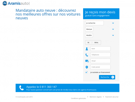 Mandataire Autos - Automobiles Neuves Jusqu'à -40% !