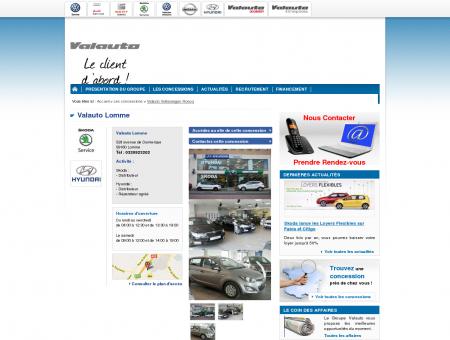 Valauto Lomme - Concessionnaire automobile...
