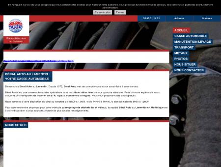 Casses automobiles (pièces détachées) - Béral...