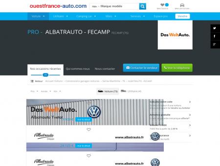 ALBATRAUTO - FECAMP FECAMP (76) -...