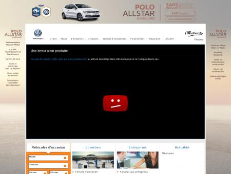 Albatrauto Fécamp, Garage Volkswagen à...