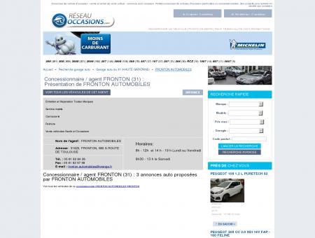 Garage/ concessionnaire FRONTON (31) -...