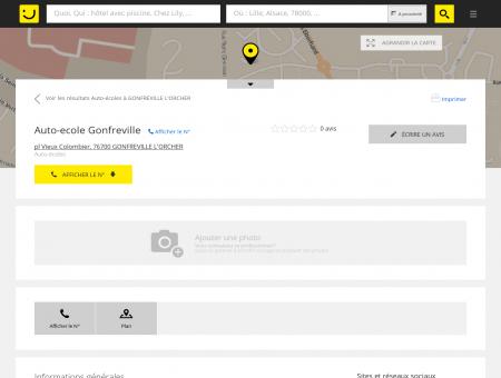 Auto-Ecole Gonfreville Gonfreville l'Orcher...